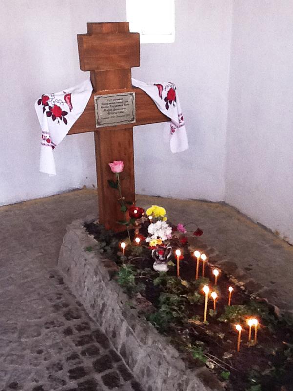 На могилі Марії Єгорчатової