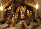 З Різдвом Христовим! Різдвяна листівка.